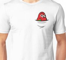 Too Many Birds! - Red & Green Macaw Unisex T-Shirt
