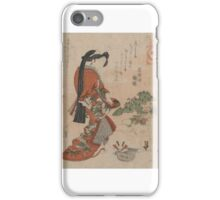 It's good to take a wife - Hokkei Totoya - 1818 iPhone Case/Skin