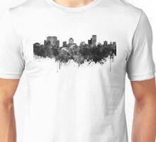 Columbia skyline in black watercolor Unisex T-Shirt