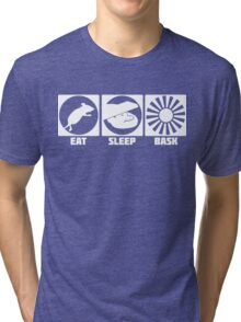 Eat Sleep Bask  Tri-blend T-Shirt