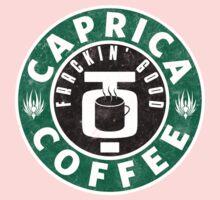 Caprica Coffee - green Kids Tee