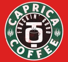Caprica Coffee - green Baby Tee