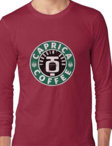 Caprica Coffee - green Long Sleeve T-Shirt