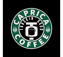 Caprica Coffee - green Photographic Print