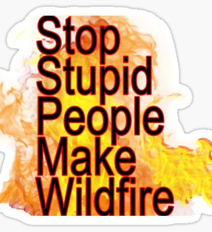 tennessee wildfire Sticker