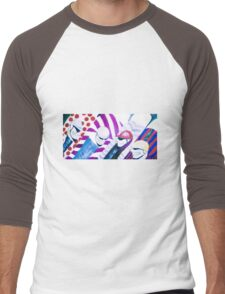 Jockeys 1 Men's Baseball ¾ T-Shirt