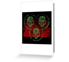 Guardians of Death Greeting Card