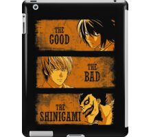 The Good, the Bad and the Shinigami - Death Note Ryuk iPad Case/Skin