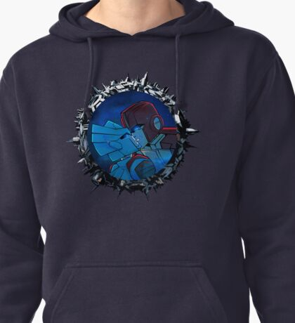 Ironhide and Chromia Pullover Hoodie