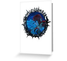 Ironhide and Chromia Greeting Card