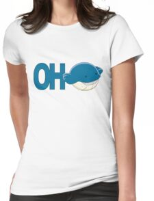 OhWhale Womens Fitted T-Shirt