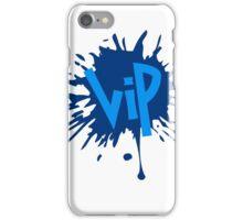 klecks farbe spritzer graffiti kreis sport cool logo design vip very important person wichtig  iPhone Case/Skin