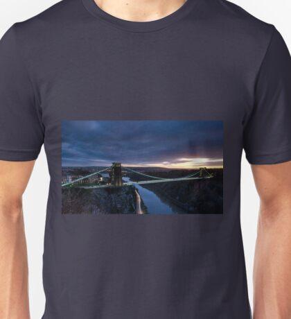 Clifton Suspension Bridge, Bristol Unisex T-Shirt