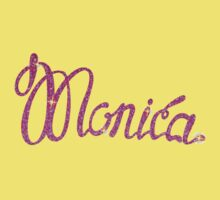 Monica name One Piece - Short Sleeve