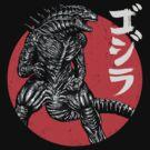 Rising Kaiju by ddjvigo