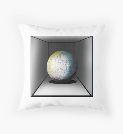 Globe Apparel Throw Pillow