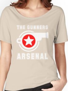 Arsenal - The Gunners - Gooners Women's Relaxed Fit T-Shirt