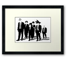 Z Dogs Framed Print