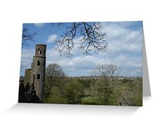 Blarney Castle View Greeting Card