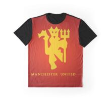 Manchester United Design Graphic T-Shirt