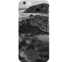 Giants Causeway Black & White iPhone Case/Skin