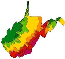 Physically West Virginia Photographic Print