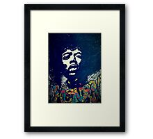 Jimmy Hendrix Framed Print
