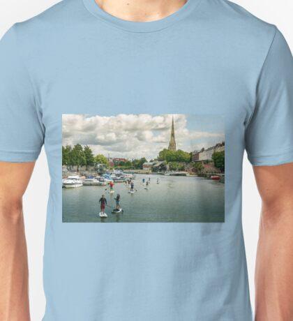 Stand Up Paddle, Bristol Unisex T-Shirt