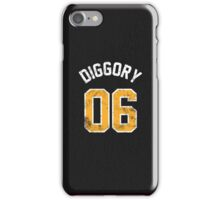 Cedric Diggory - Quidditch Training T-Shirt - NO.6 iPhone Case/Skin
