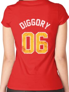 Cedric Diggory - Quidditch Training T-Shirt - NO.6 Women's Fitted Scoop T-Shirt