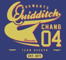 Cho Chang - Quidditch Shirt (Dirty Version) by soulthrow