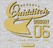 Cedric Diggory - Quidditch T-shirt (Dirty Version) Kids Clothes