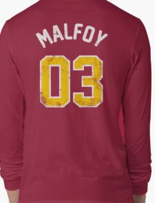 Draco Malfoy - Quidditch Shirt - NO.3 Long Sleeve T-Shirt