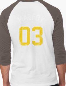 Draco Malfoy - Quidditch Shirt - NO.3 Men's Baseball ¾ T-Shirt