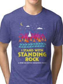 Stand With Standing Rock Shirt Tri-blend T-Shirt