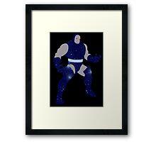 Darkseid Galaxy Framed Print