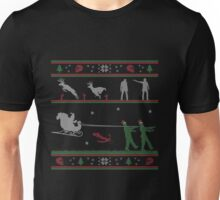 Ugly Christmas Sweater Zombie Unisex T-Shirt