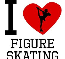 I Heart Figure Skating by kwg2200