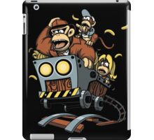 Indiana Kong and the Temple of Nanners iPad Case/Skin