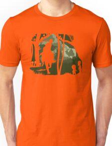 Mononoke, Wolf and Ashitaka in Forest Anime Unisex T-Shirt