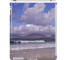 An Afternoon on the Beach in September -  Outer Hebrides iPad Case/Skin