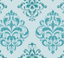 Royal Blue Pattern Sticker