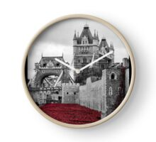 Poppies at the Tower Clock