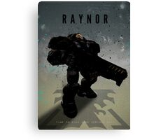 Legends of Gaming - Raynor Canvas Print