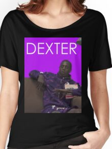 dexter - purple Women's Relaxed Fit T-Shirt