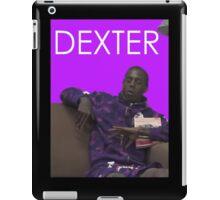 dexter - purple iPad Case/Skin