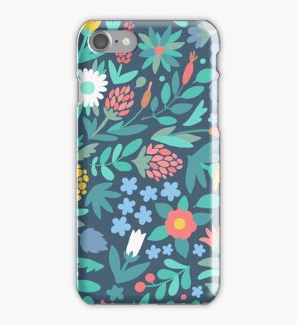 Pretty Floral Pattern iPhone Case/Skin