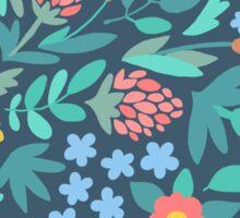 Pretty Floral Pattern Sticker