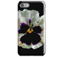 Garden Pansy iPhone Case/Skin