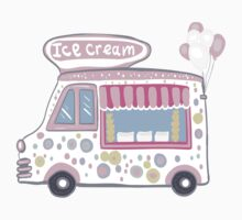 Ice cream truck One Piece - Short Sleeve